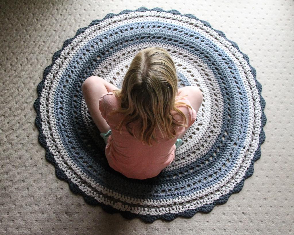 June 16, 2016 crochet mandala rug{Sequence # (1)»}-14