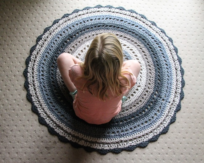 June 16, 2016 crochet mandala rug{Sequence # (1)»}-14