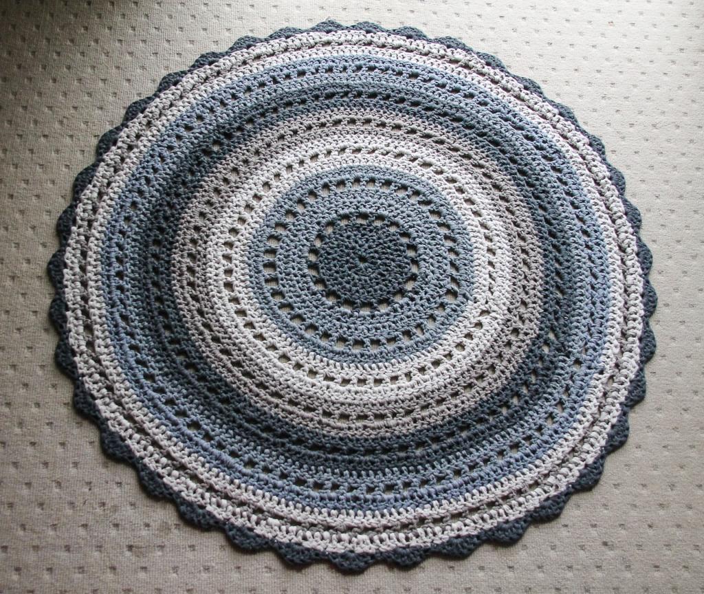 June 16, 2016 crochet mandala rug{Sequence # (1)»}-17