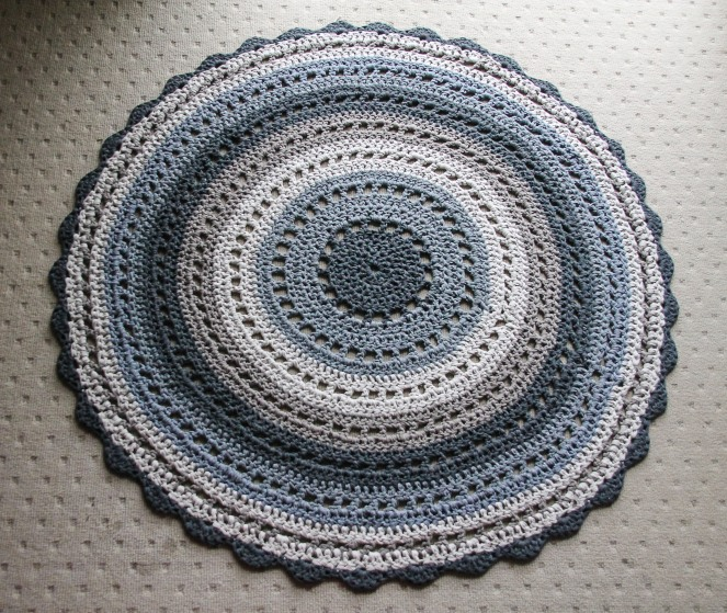 June 16, 2016 crochet mandala rug{Sequence # (1)»}-17